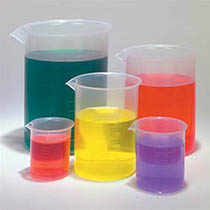 بشر پلاستیکی - فروش بشر پلاستیکی - بشر - ظروف آزمایشگاهی