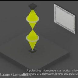 میکروسکوپ نوری قطبیده
