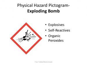 بمب در حال انفجار