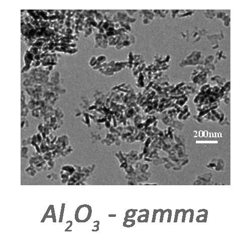 فروشنانو ذرات اکسید آلومینیوم(گاما)