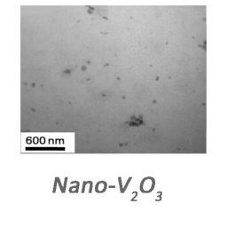 نانو ذرات اکسید وانادیم