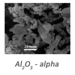 نانو ذرات اکسید آلومینیوم آلفا