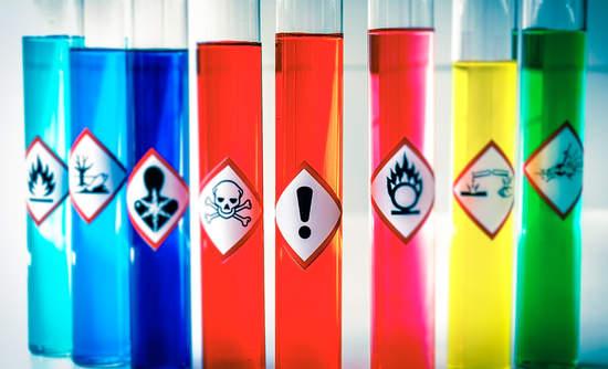 لیست مواد شیمیایی