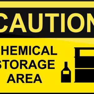 نگهداری مواد شیمیایی در انبار