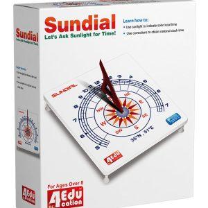 فروش کیت بازی آموزشی ساعت آفتابی 4edu