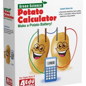 فروش کیت آموزشی ماشین حساب سیب زمینی 4edu