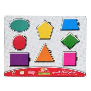 فروش بازی پازل اشکال هندسی