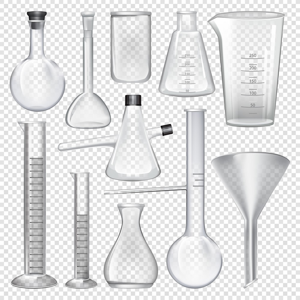معرفی انواع ظروف آزمایشگاهی