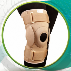 زانوبند مفصل دار قابل تنظیم نئوپرن سماطب