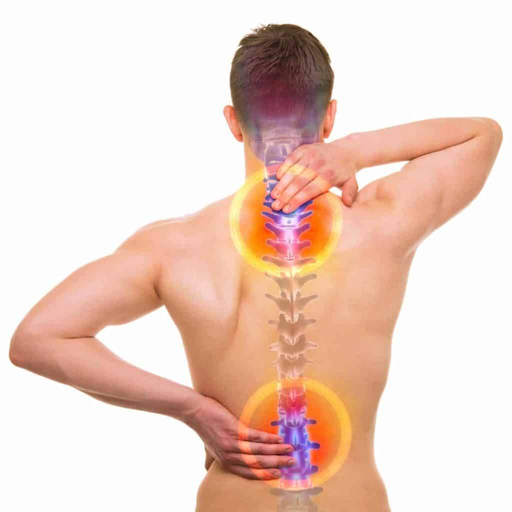 فواید گردنبند و کمربند طبی برای دیسک