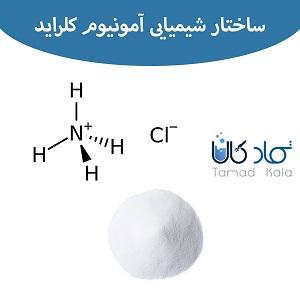 ساختار شیمیایی نشادر | خرید آمونیوم کلراید