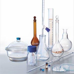 کلاس بندی شیشه آلات آزمایشگاهی